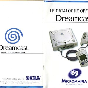 Catalogue Officiel Dreamcast